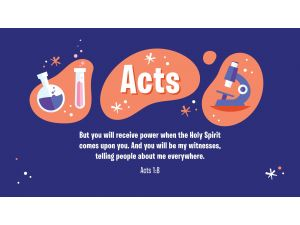 Acts - Early Childhood