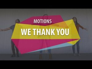 Motions - We Thank You